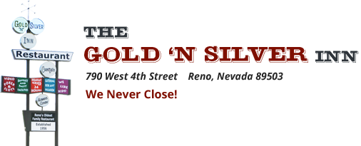 Gold 'N Silver Inn – Reno Logo